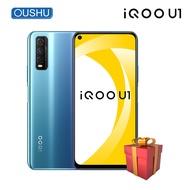 Original Vivo IQOO U1 4Gโทรศัพท์มือถือSnapdragon 720G 48MP Tripleกล้องด้านหลังCelular 4500MAh 18W 6.53 ''Poreสมาร์ทโฟน