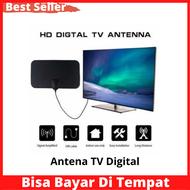 Antena TV Digital / Taffware Antena TV Digital DVB-T2 4K High Gain 25dB - TFL-D139 / Antena TV / antena sinyal kuat /antena uhf vhf  jangkauan luas / antena tempel / antena digital lokal / antena tvri / antena termurah / antena terbaru laris