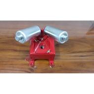 ╭☆優質五金☆╮可以調整高低 車牙機用頂管架 支撐架 水管架 固定座,ASADA REX 車牙機 MCC切管機