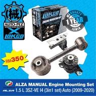 PERODUA ALZA 1.5L MANUAL Engine Mounting Set 1.5L 3SZ-VE(2009-2020) - LOKCO BRAND