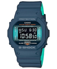 Casio G-Shock Navy Blue Series Special Color Model Resin Watch DW-5600CC-2 DW5600CC-2 DW5600CC