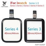 100% ทดสอบ Touch สำหรับ Apple Watch Series 38มม.40มม.42มม.44มม.สำหรับนาฬิกาซีรี่ส์1 2 3 4 5สัมผัสหน้าจอ Lcd แก้วดิจิตอล