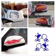 Car Stickers Car Stickers Decorative Mirror Stickers Rearview Mirror Car Stickers