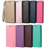 【Hanman】HTC U12+/U12 Plus 2Q55100 6吋 真皮手機皮套/側掀保護套/卡片皮套/贈掛繩