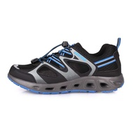 LOTTO 男征服者水陸兩用鞋-排水 慢跑 越野 登山 水陸鞋 黑灰藍@LT0AMW2006@