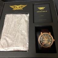 雅力士 ARIES GOLD 史密斯飛船 全球限量聯名機械錶G9008 RG-BK