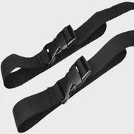 2Pcs ไนลอนสายรัดสวมใส่เต็นท์ Band กระเป๋าเดินทางกระเป๋าเป้สะพายหลังกลางแจ้งเข็มขัดปรับสายรัดส...