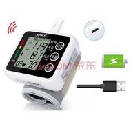 充电式电子血压计血压表血压测量仪血压计仪器手腕式语音 USB充电内置锂电款