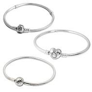 Pandora 潘朵拉 經典925純銀手鍊手環(17cm/多款可選)