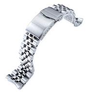 Strapcode Watch Strap MiLTAT 22mm for Seiko SKX007 SKX009 SKX171 SKX173 SKX175 Angus-J Solid Screw-Links Bracelet