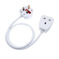 ℗Singapore Malaysia UK Plug To Socket Power Extension Cable With Switch, Male Female 3Pin AC Cord 0.3m~10m Home Applian