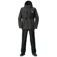 DAIWA DR-36008 釣魚雨衣套裝 黑色L