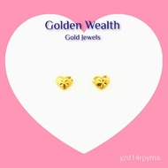 916 Gold Stud Earring Subang Emas 916  Anting-anting Emas
