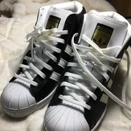 二手愛迪達金標內增高球鞋女球鞋