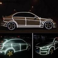 【warmwing】 1 Roll Reflective Night Safety Warning Stripe Car Truck Tape Sticker 2cm*5m SG