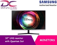 SAMSUNG 32 INCH UHD monitor with Quantum Dot Colours (LU32H850UMEXXS)