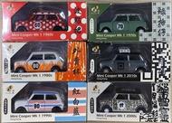 ☆勳寶玩具舖【現貨】TINY 微影 城市 香港歷史車 Mini Cooper Mk 1 一套6款
