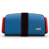 【淘氣寶寶】美國 mifold 隨身安全座椅 藍色【保證公司貨】
