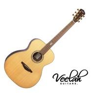 全新款 Veelah V8 OM 40吋 全單 民謠吉他 - 【他,在旅行】