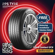 (INSTALLATION)Continental Ultra Contact 6 UC6 195/50R16 185/55R16 205/55R16 195/55R16 205/50R16 215/55R16 215/60R16 215/45R17 225/45R17 225/50R17 215/50R17 225/55R17 215/55R17 235/50R18 235/55R18 225/45R18 225/50R18