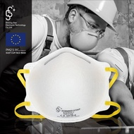 Ffp2等級非醫療口罩 可過濾油煙類【SS口罩博士】一次性口罩 工業級杯型口罩 無氣閥9001/2-FFP2等級 N95
