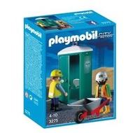 Playmobil 摩比絕版品 3275 流動廁所