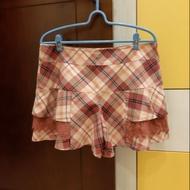 瑪之蜜   格紋褲裙