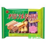 日本 北日本bourbon 什錦餅乾 綜合餅乾 170公克 17袋入