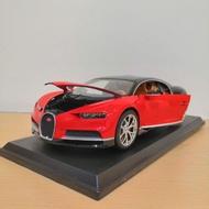 Bugatti chiron 好市多1:18模型車