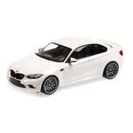 【名車館】MINICHAMPS 155028000 BMW M2 Competition 2019 White 1/18