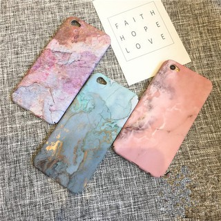 Marble Pattern Hard Matte Frosted Case for OPPO A83,R11S,R11S Plus,R11,R11 Plus