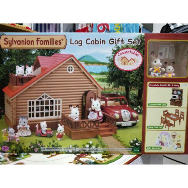 森林家族小木屋禮盒組