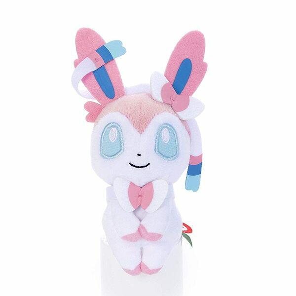 寶可夢 仙子伊布 仙子精靈 坐姿娃娃 玩偶 神奇寶貝 pokemon 日本正品 該該貝比日本精品 ☆