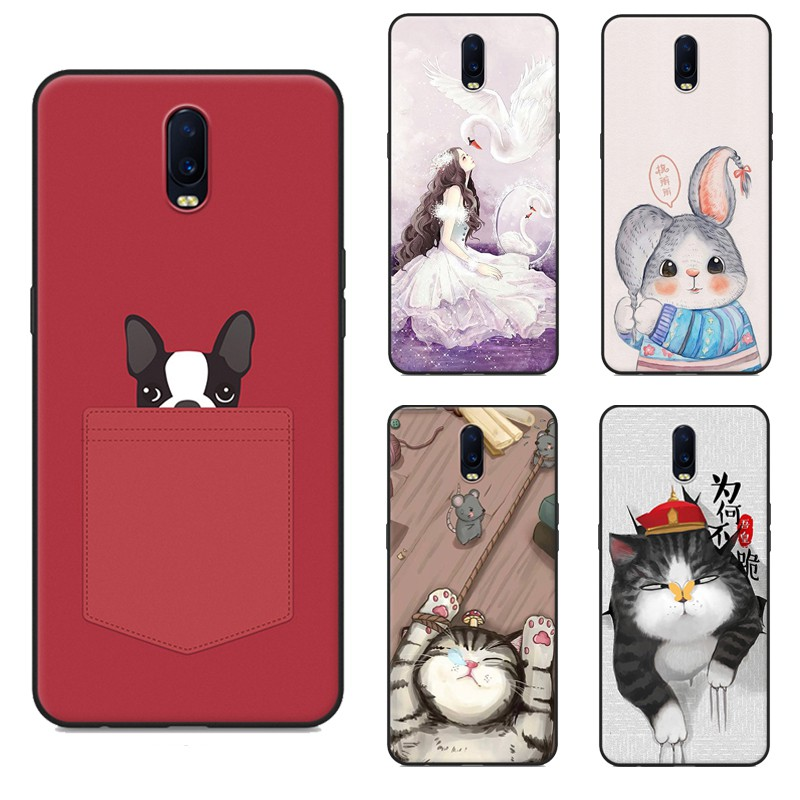 Cute Cloth Bag Silicone Case For OPPO R17 R11s R11sPlus Soft Cover OPPO R11s R17