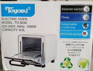 Toyomi Electric oven Model 8030
