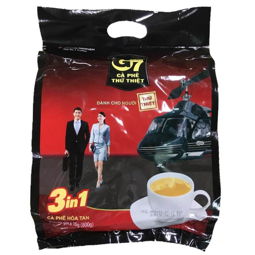 【越南】G7三合一咖啡量販包50入
