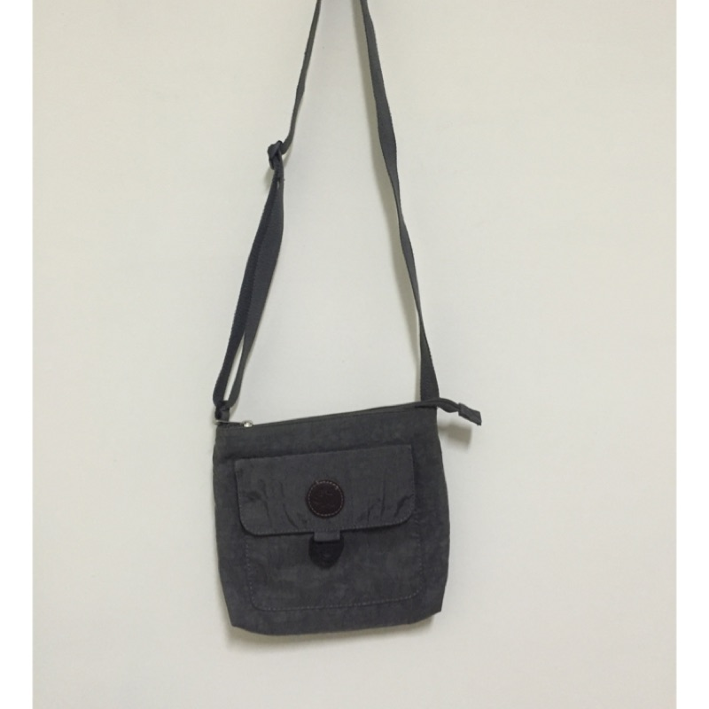 Miss San 鐵灰色側背包 小包包 二手轉售