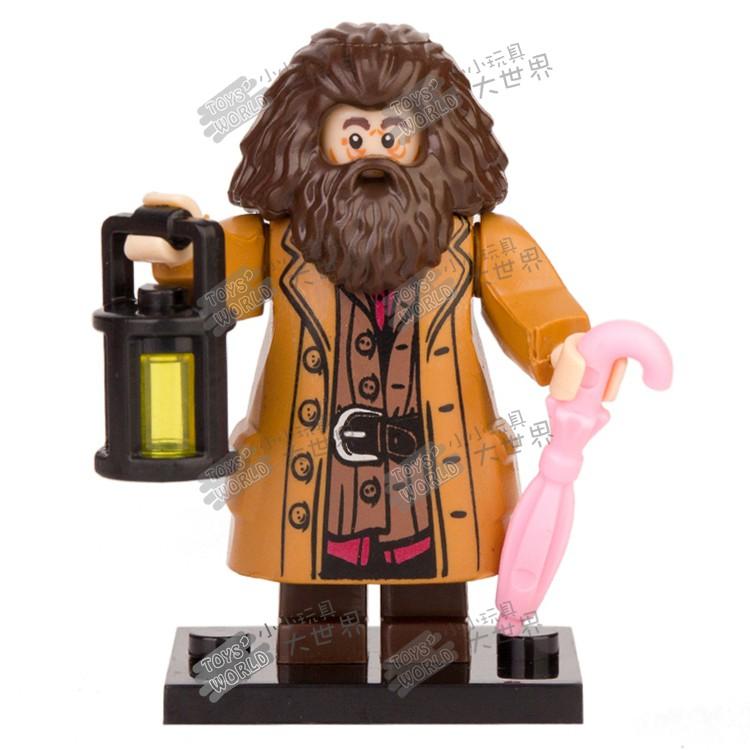 新品上市兼容樂高哈利波特PG1290海格75954霍格沃茲城堡拼裝積木人仔玩具