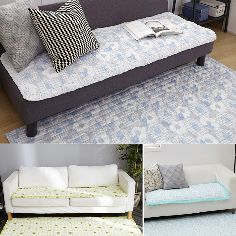 SOFA COVER Carpet★Seat Pad Bed Single Queen Non-Slip Couch★Summer Cool★Nordic/Made in KOREA