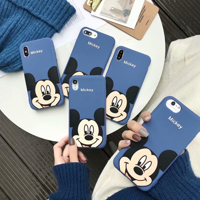 Oppo R11 R11S Plus MickyMouse Jelly Cover Case  25517