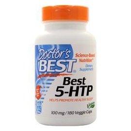 Doctor's Best 5-HTP 羥基色胺酸 100mg 180粒 素食