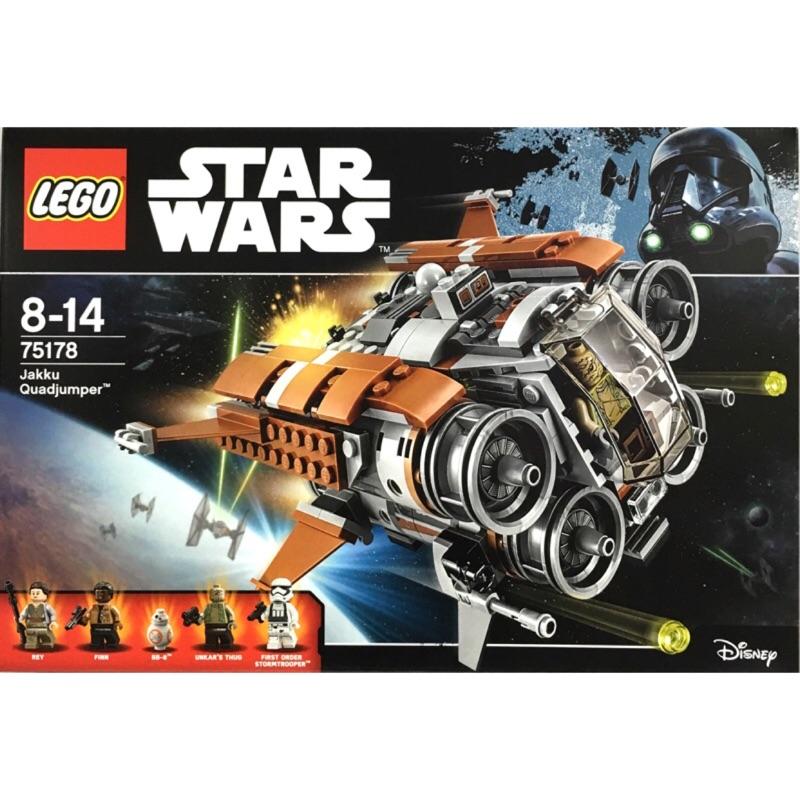 LEGO樂高積木 星際大戰 Star Wars 75178 賈庫星的四躍飛船