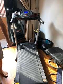 Treadmill foldable