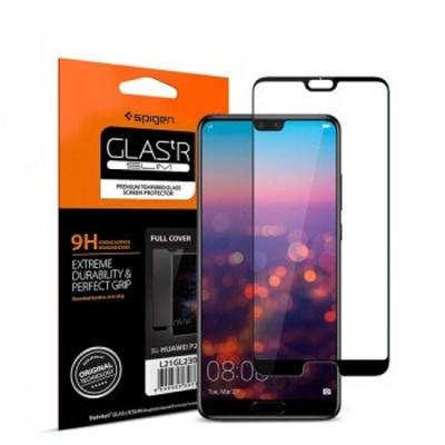 Huawei P20 / P20 Pro ORIGINAL Spigen 7D Full Coverage Tempered Glass