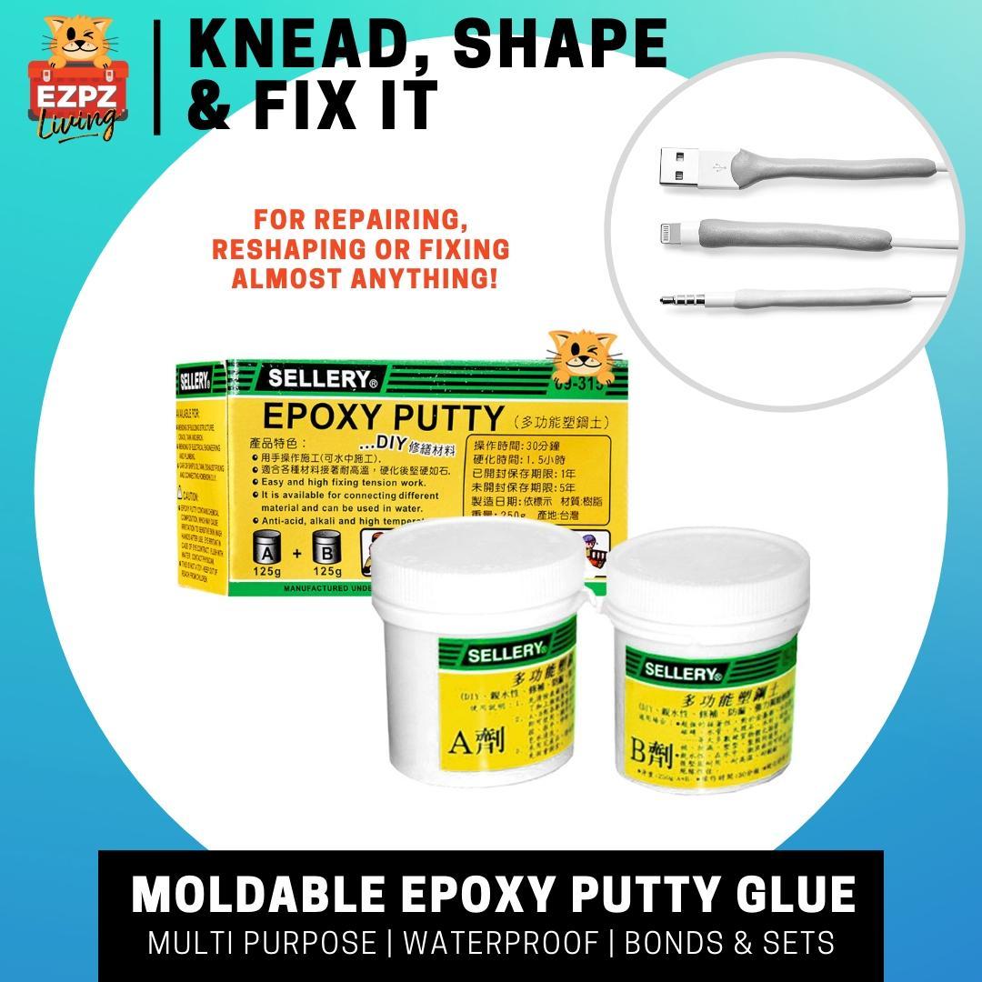 SELLERY Mouldable Repair Epoxy Putty, Waterproof - 250g