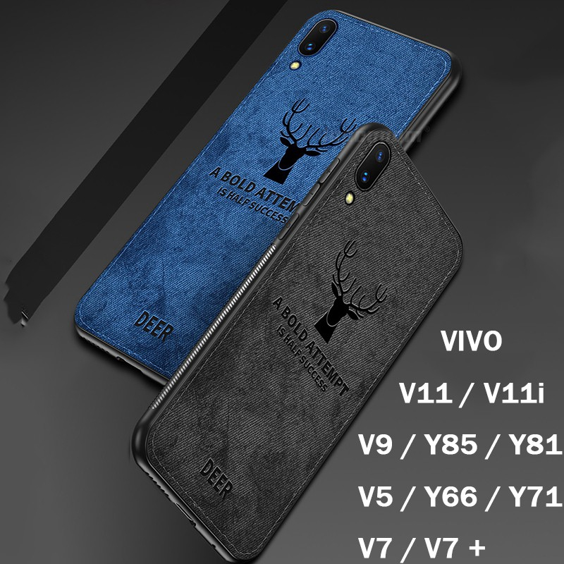 Case VIVO V9/Y85/V7/V7 Plus/V5/Y66/Y71/Y81/Y81i Phone Casing Elk Soft Cover oll