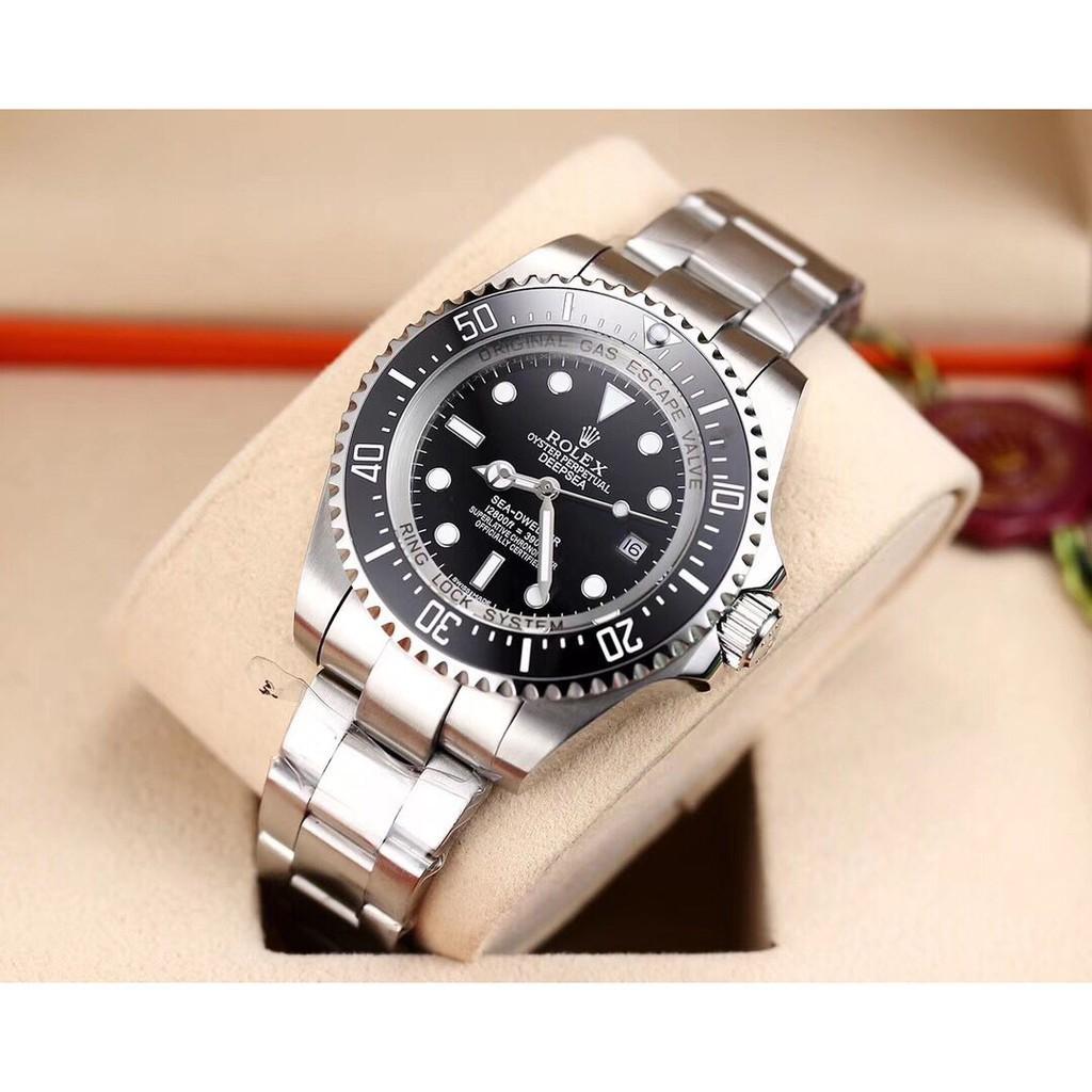 正品大Rolex勞力士手錶 經典水鬼王 錶王之王 男士腕錶 時尚商務手錶 全自動機械錶 原裝西鐵城8215全自動機械機芯