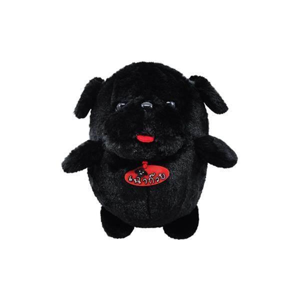ตุ๊กตาสุนัขเฉาก๊วย (ตัวกลม) สีดำ  ของเล่นเด็ก ตุ๊กตาสัตว์ บ้านตุ๊กตาของเล่น ตุ๊กตาผู้หญิงน่ารักๆ ของเล่นตุ๊กตาบาร์บี้ ตุ๊กตาหมี บ้านบาร์บี้หลังใหญ่ เกมส์แต่งบ้านบาร์บี้  ตุ๊กตาน่ารักญี่ปุ่น ตุ๊กตาน่ารักราคาถูก ชุดของเล่นเด็ก