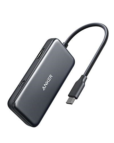 Anker Anker USB C Hub, 3-in-1 Type C Hub, 4K USB C to HDMI Adapter, USB 3.0, with 60W Power Delivery