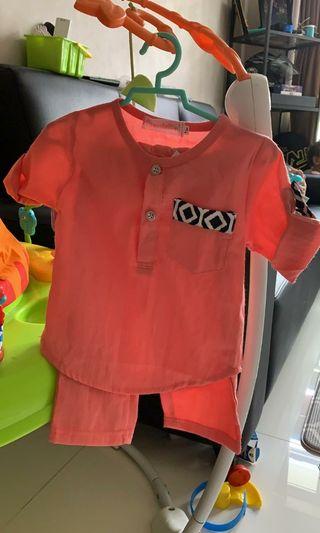 🚚 Baby Boy Baju Kurung